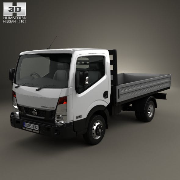 Nissan NT400 Dropside Truck 2014 - 3DOcean Item for Sale