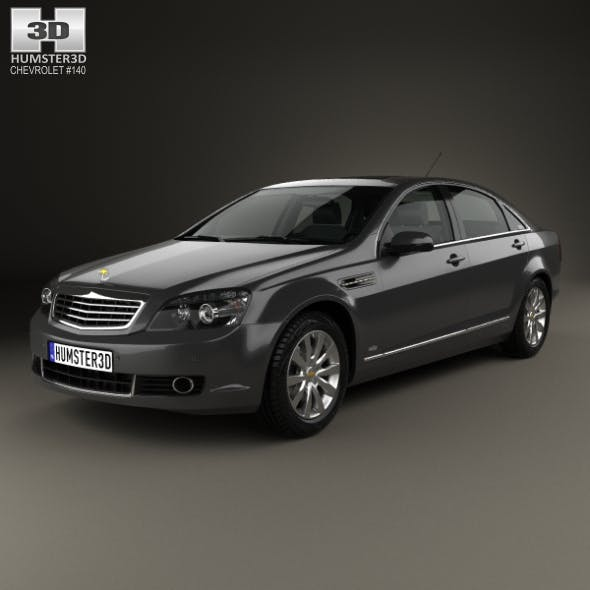 Chevrolet Caprice Royale 2014 - 3DOcean Item for Sale