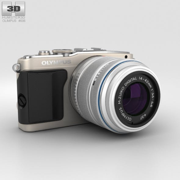 Olympus PEN E-PL5 Silver - 3DOcean Item for Sale