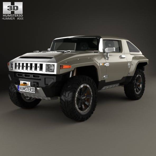 Hummer HX 2008 - 3DOcean Item for Sale