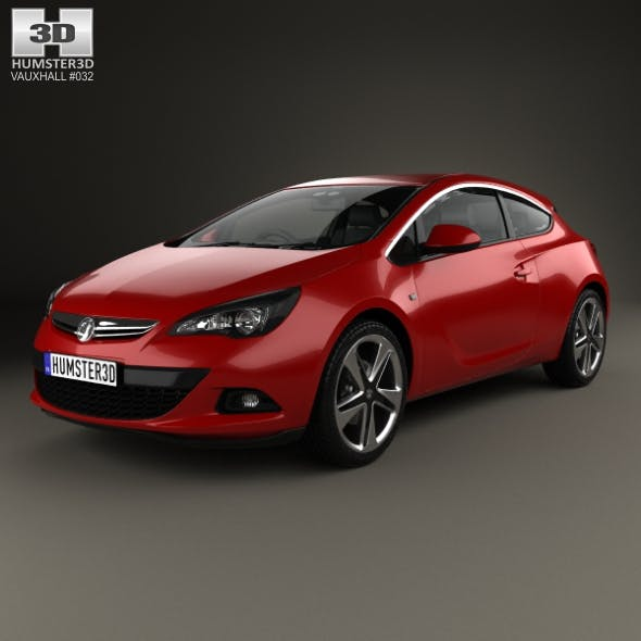 Vauxhall Astra GTC 2011 - 3DOcean Item for Sale