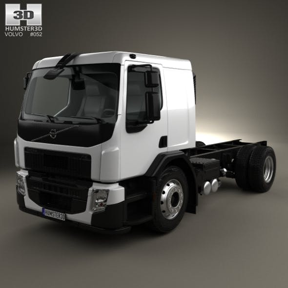 Volvo FE Chassis Truck 2-axle 2013 - 3DOcean Item for Sale
