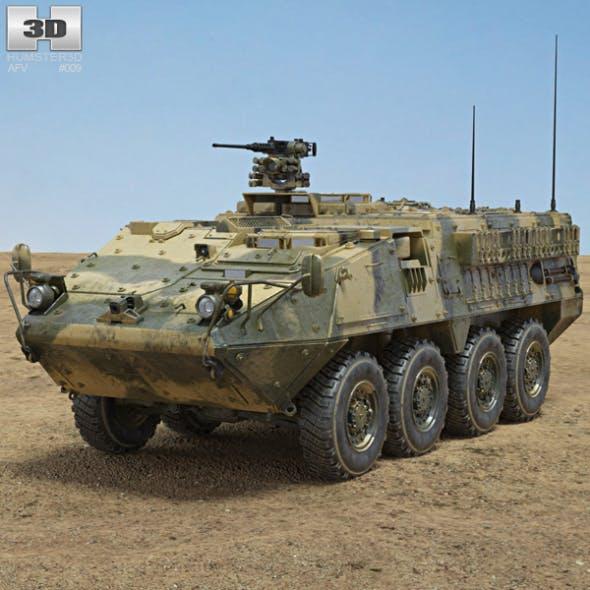 M1126 Stryker ICV - 3DOcean Item for Sale