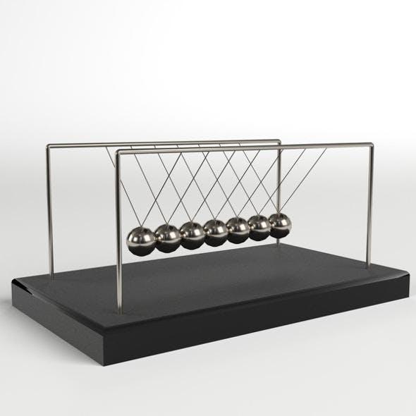 Newton's Cradle - 3DOcean Item for Sale