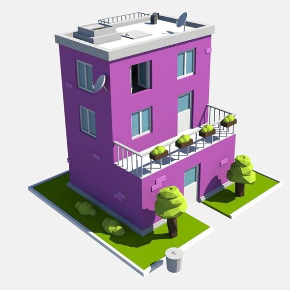 build purple - 3DOcean Item for Sale