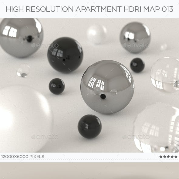 High Resolution Apartment HDRi Map 013