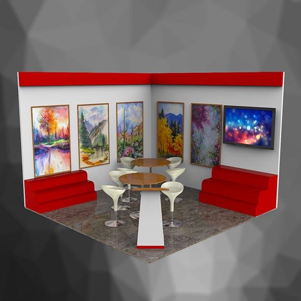 3D Stall Design 2 - 3DOcean Item for Sale