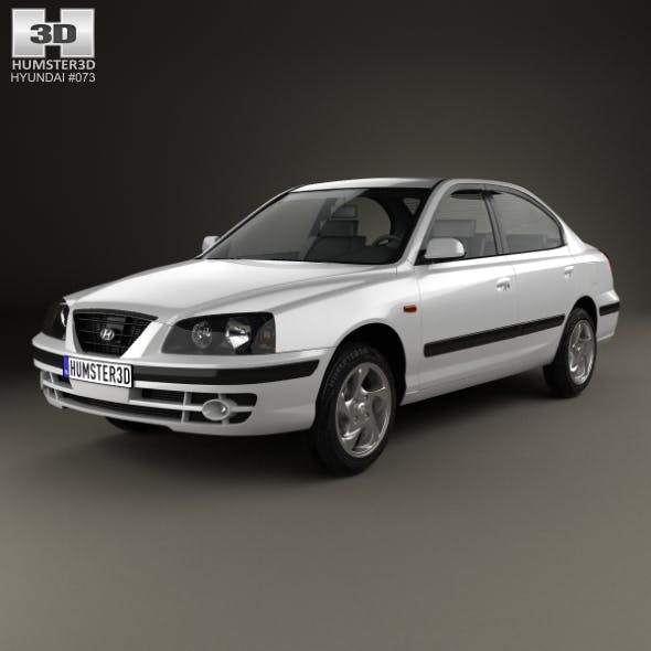 Hyundai Elantra (XD) 2003 - 3DOcean Item for Sale