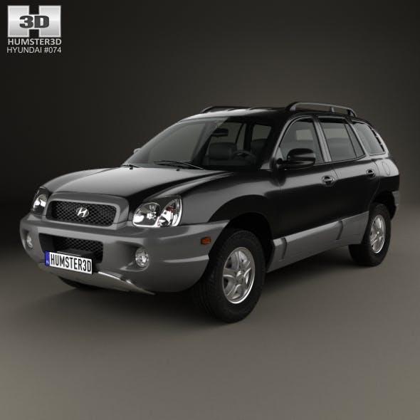 Hyundai Santa Fe (SM) 2004 - 3DOcean Item for Sale