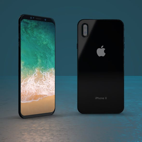 Apple Iphone 8X - 3DOcean Item for Sale
