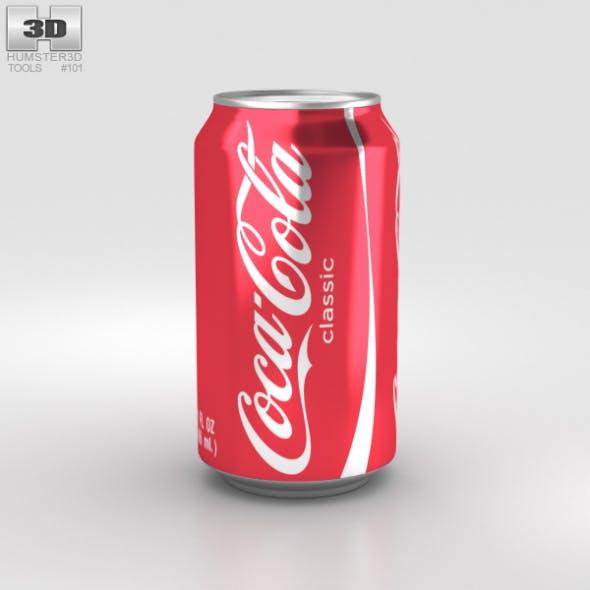 Coca-Cola Can 12 FL - 3DOcean Item for Sale