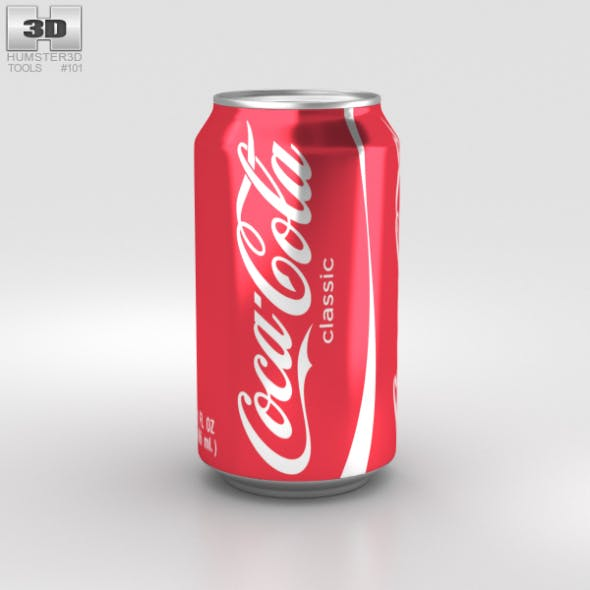 Coca-Cola Can 12 FL