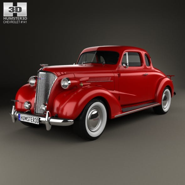 Chevrolet Master DeLuxe (GA) 1937 - 3DOcean Item for Sale
