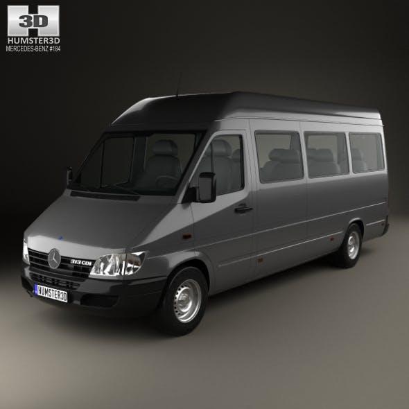 Mercedes-Benz Sprinter (903) Passenger Van L3H2 2000
