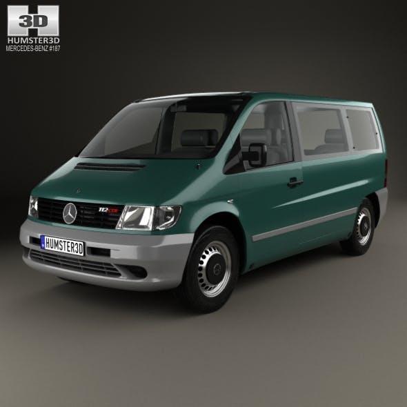 Mercedes-Benz Vito (W638) Passenger Van 1996 - 3DOcean Item for Sale