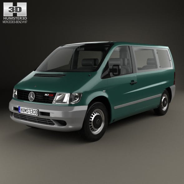 Mercedes-Benz Vito (W638) Passenger Van 1996