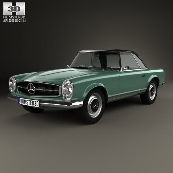 Mercedes-Benz SL-class (W113) 1963 - 3DOcean Item for Sale