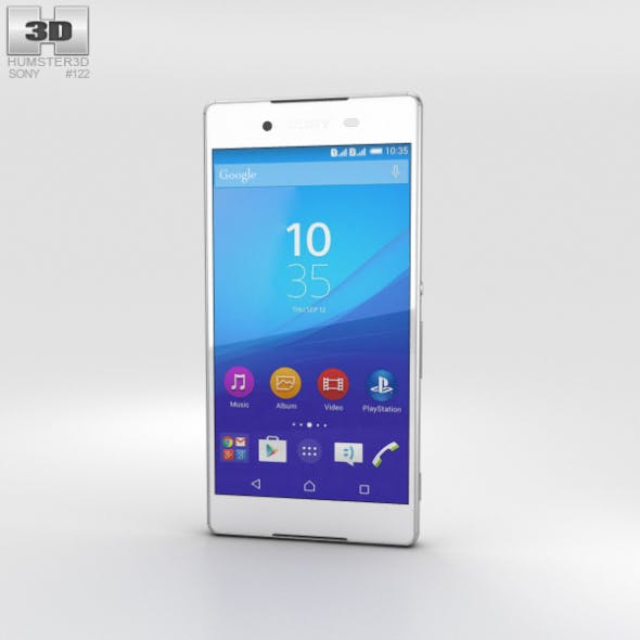 Sony Xperia Z4 White - 3DOcean Item for Sale