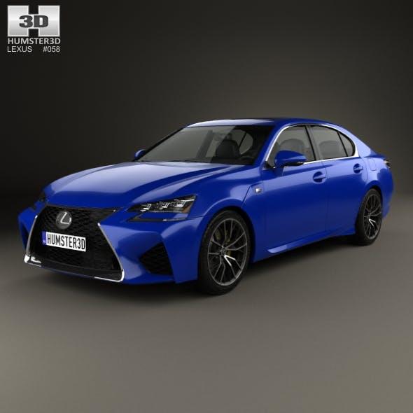 Lexus GS F 2015 - 3DOcean Item for Sale
