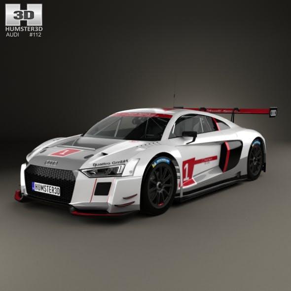 Audi R8 LMS 2016 - 3DOcean Item for Sale