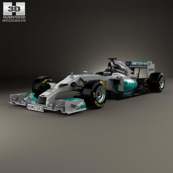 Mercedes-Benz W05 2014