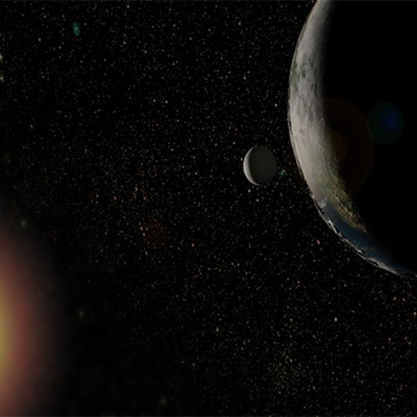Realistic Earth - planet earth