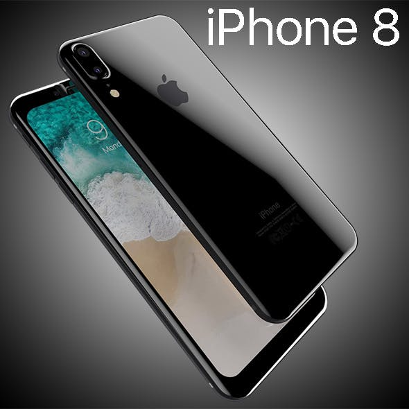 Apple iPhone8 2017 Rounded edges Leak All Colors