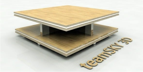 Modern Centre Table - 3DOcean Item for Sale