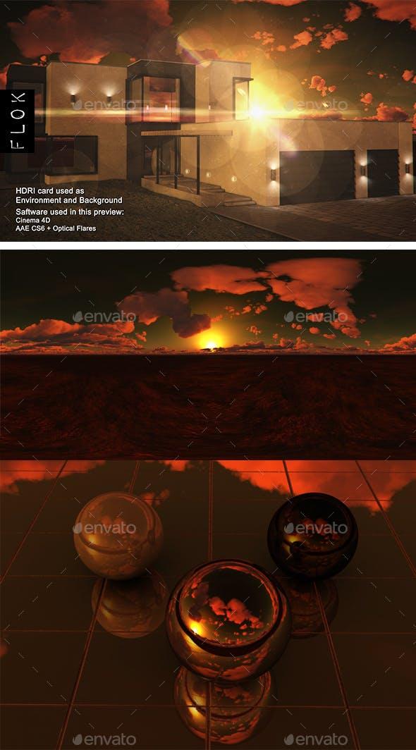 Sunset Desert 95 - 3DOcean Item for Sale
