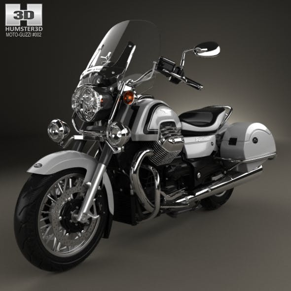 Moto Guzzi California 1400 Touring 2015 - 3DOcean Item for Sale