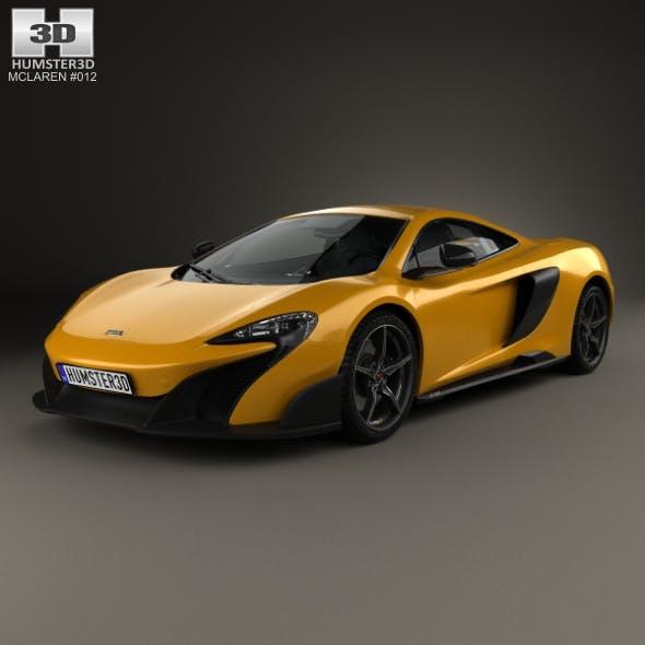 McLaren 675LT 2014 - 3DOcean Item for Sale