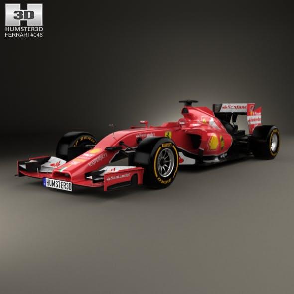 Ferrari F14 T 2014 - 3DOcean Item for Sale