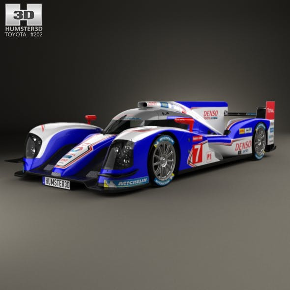 Toyota TS030 Hybrid 2013 - 3DOcean Item for Sale