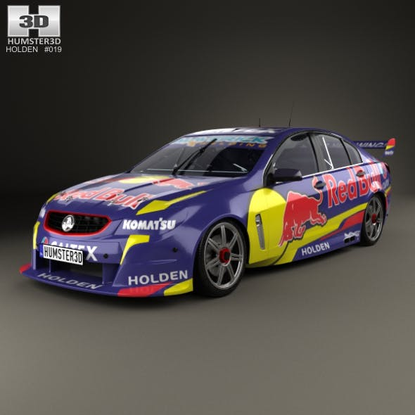 Holden Commodore VF Supercar 2013 - 3DOcean Item for Sale