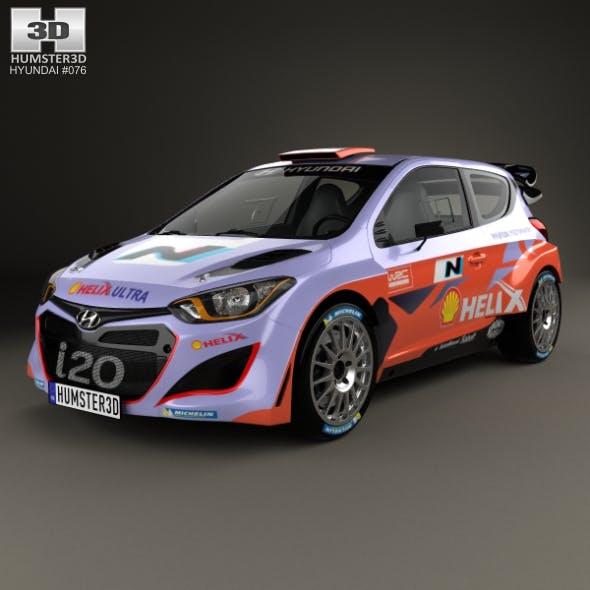 Hyundai i20 WRC 2012 - 3DOcean Item for Sale