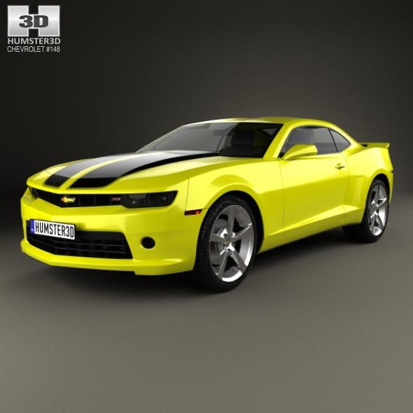 Chevrolet Camaro RS coupe 2014 - 3DOcean Item for Sale