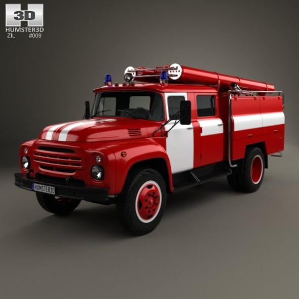 ZIL 130 Fire Truck 1970 - 3DOcean Item for Sale