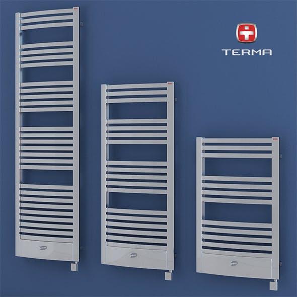 Heated towel rail Terma Dexter pro - 3DOcean Item for Sale