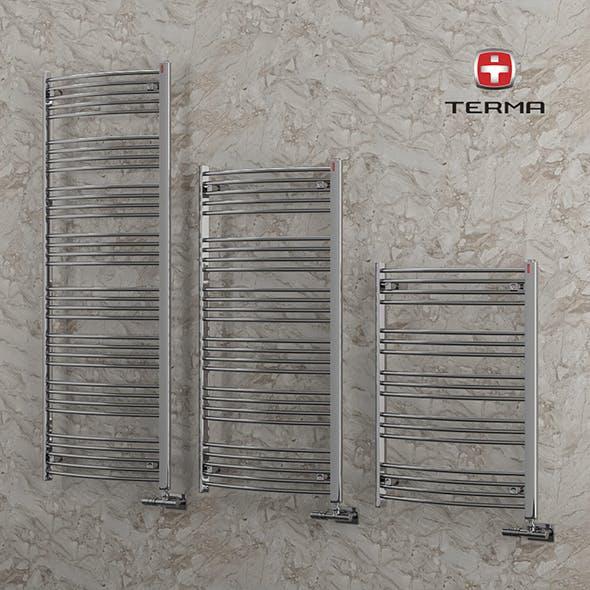 Heated towel rail Terma Domi - 3DOcean Item for Sale