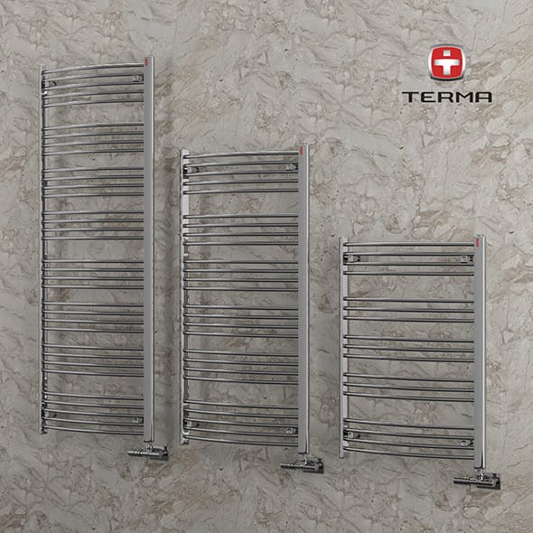Heated towel rail Terma Domi