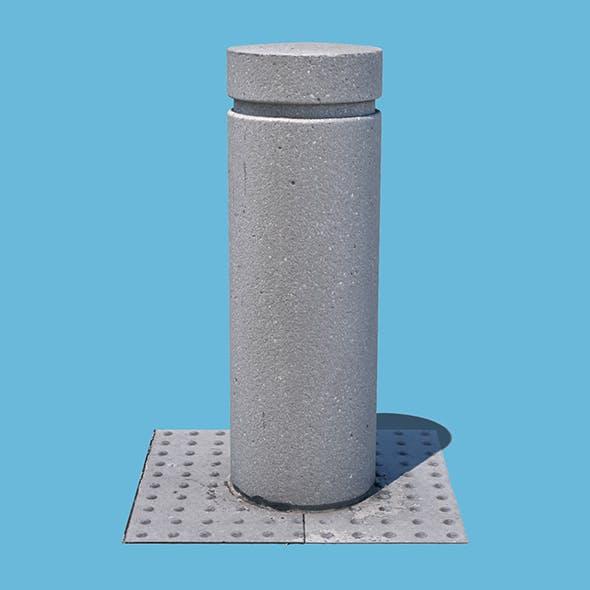 Concrete Bollard (3D Scan)