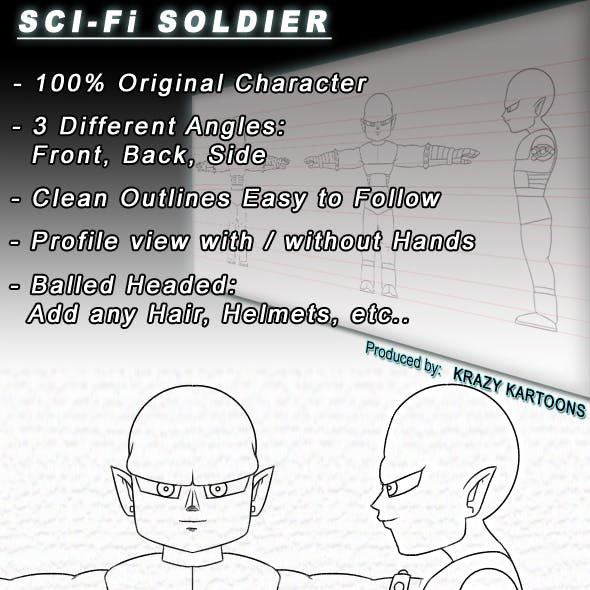 SCI-FI Soldier - Character Sheet