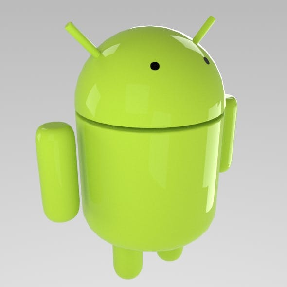 android robot - 3DOcean Item for Sale