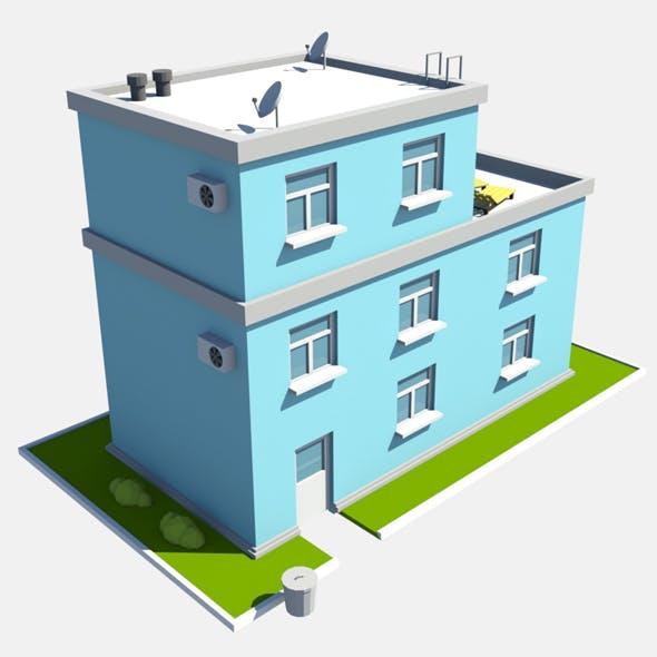 build blue - 3DOcean Item for Sale