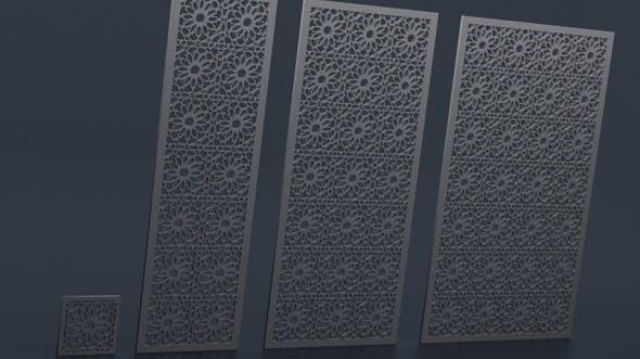 Arabesque Decoration Pattern - 3DOcean Item for Sale