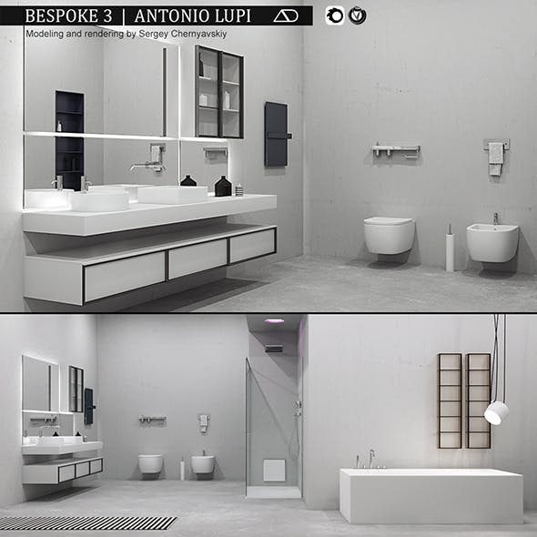 Bathroom furniture set Bespoke 3