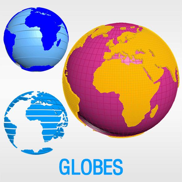 World Globes (Geographic)