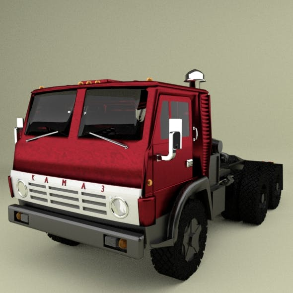 Kamaz - 3DOcean Item for Sale