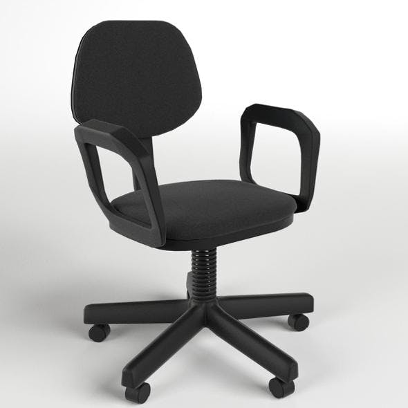 Office Chair 4 - 3DOcean Item for Sale
