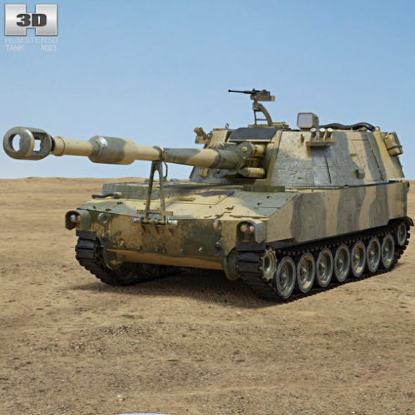M109 Howitzer - 3DOcean Item for Sale